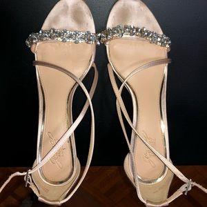 Bartley Mischka jewel wedges
